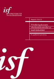 Ladda ned som PDF - Inspektionen för socialförsäkringen