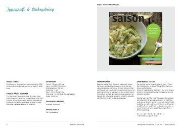 Typografi & Ombrydning