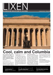 Cool, calm and Columbia - teknokrati . dk