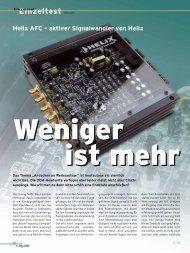 Helix AFC - Audiotec Fischer Gmbh