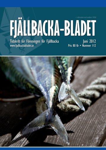 Juni 2012 Tidskrift för Föreningen för Fjällbacka
