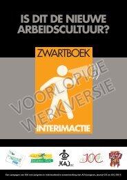 Zwartboek interim - ACV Bouw - industrie - Mechelen