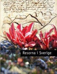 Resorna i Sverige - Nationellt resurscentrum för biologi och ...