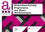 Stedenbouwkundig Programma van Eisen - Wibaut aan de Amstel