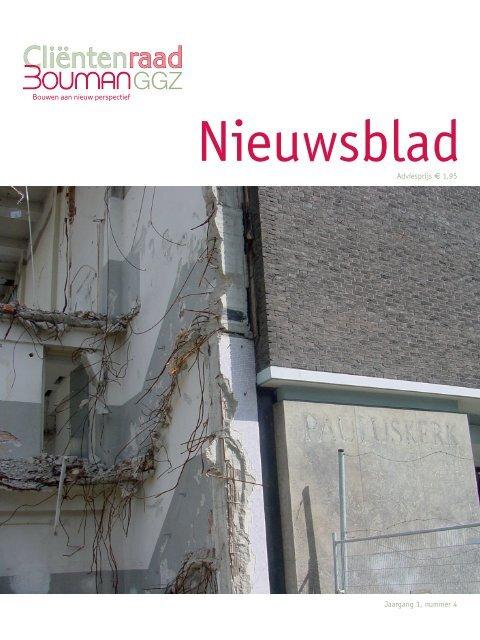 Nieuwsblad juli 2008 - Bouman GGZ