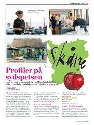 Profiler på sydspetsen - Gourmet