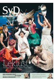 scenvår 2013 - SvD Kundservice - Svenska Dagbladet