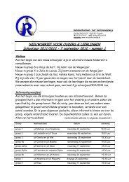 7 september 2012 – nummer 1 - Rehobothschool Kampen