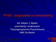 PTSS - Diagnostiek en behandeling - Beroepsziekten.nl