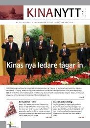 TILL KINA - Sweden-China Trade Council