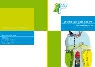 Energie van eigen bodem - Raad voor de leefomgeving en ...
