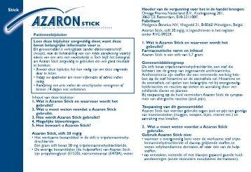 Download Azaron Stick bijsluiter