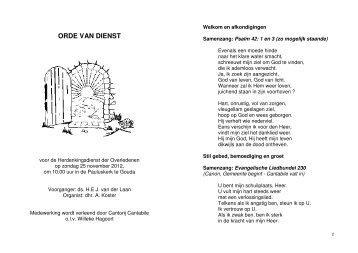 25 november 2012 - Pauluskerk Gouda