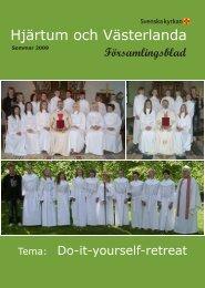 Nr 2 - 2009 - Sommar (5,03 Mb - Svenska kyrkan i Hjärtum och ...