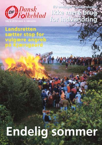 Ikke mere brug for indvandring Ikke mere brug for ... - Dansk Folkeparti