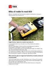 Bilka vil redde liv med AED (PDF) - Falck