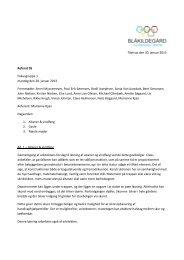Referat af møde den 28. januar 2013