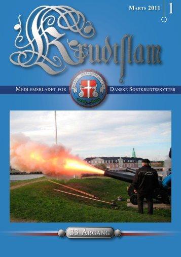 Krudtslam Nr.1-2011 - Forbundet Af Danske Sortkrudtskytteforeninger