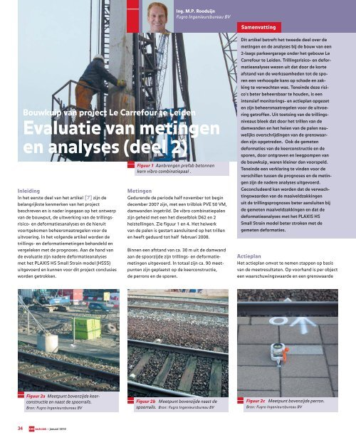 Bouwkuip van project Le Carrefour te Leiden - GeoTechniek