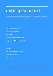 PDF 1,04MB - Sundhedsstyrelsens Rådgivende Videnskabelige ...
