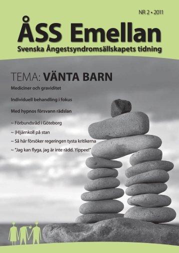Nr 2 2011 - Svenska ÅngestSyndromSällskapet