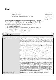 VVM-screening af udvidelse af Aalborg Storcenter - Aalborg Kommune