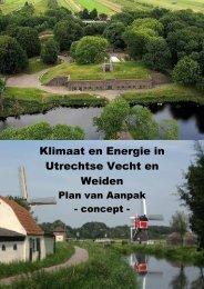 Utrechtse Vecht en Weiden - Op de kaart van Utrecht