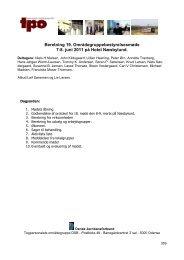 Beretning 19. Områdegruppebestyrelsesmøde 7-8. juni ... - tpo@dsb