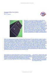 Netscape: Crimson 640 Mono Power Amplifiers hi-fi+ technical review