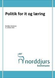 Godkendt politik for IT og læring - Norddjurs Kommune