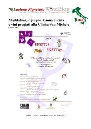 Ricette & Ricett'iss - CLINICA SAN MICHELE   Maddaloni