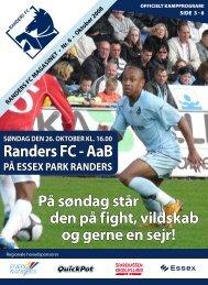 oktober 2008 - Randers FC vs. AaB