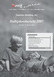 Halbjahresbericht 2007