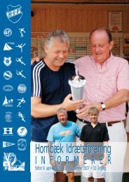 HIF - Hornbæk Idrætsforening