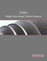 Single Valve Steam Turbine Governor - Lenox