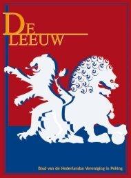 december 2009 - 1 - - De Rode Leeuw