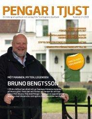 BRUNo BENGTSSoN - Tjustbygdens sparbank