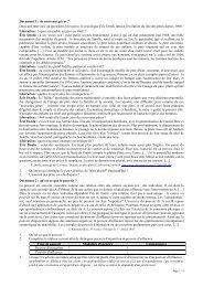 Le pouvoir - documents - SES Secours