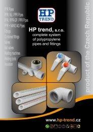 Katalog výrobků - HP trend, sro