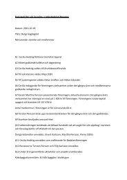 Protokoll fört vid årsmöte i Lädja Badplatsförening Datum: 2012-10 ...