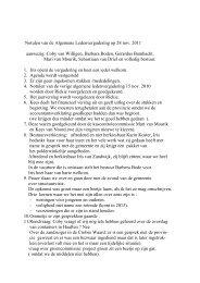 Algemene ledenvergadering 28 november 2011 - Dorpsbelangen ...