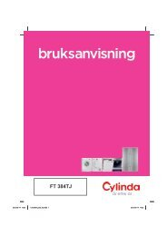 Ladda ner bruksanvisning - Cylinda