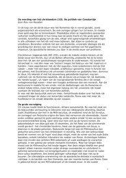 De wording van het christendom (10). De politiek van ... - Roodkoper