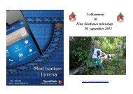 Velkommen til Finn Skedsmos minneløp 29. september 2012