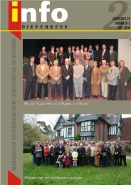 Info Diepenbeek Nummer 2 mei 2006 - Gemeente Diepenbeek