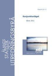 Konjunkturläget våren 2011 - ÅSUB