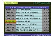 1 Thess.5 - De Bijbel Open