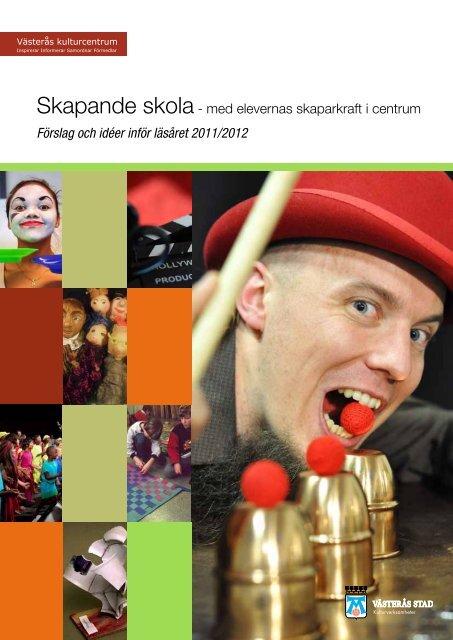 Skapande skola - Västerås kulturcentrums