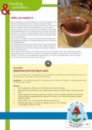 «Blik» uw voedsel in Appelmoes met honing en azijn - IBGE