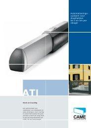 Automatiserings- systeem voor draaihekken tot 3 en 5m ... - Alfa Gent
